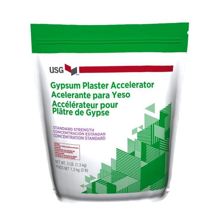 Usg Gypsum Plaster Accelerator 1 5 Lb Bag At Valley Interior Products