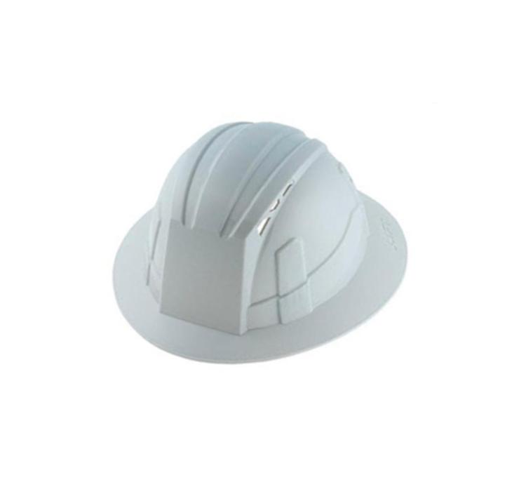 LIFT Safety Vantis Full Brim Hard Hat - Grey at United Building
