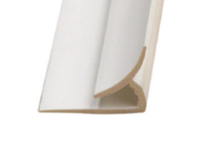 10 ft Marlite FRP PVC Inside Corner - White at Valley