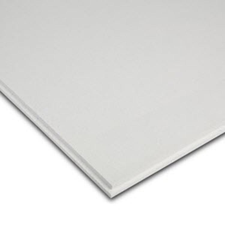 58 In X 2 Ft X 2 Ft Rockfon Artic Square Tegular Tile 660 At