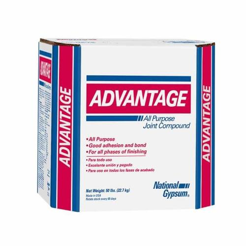 National Gypsum Advantage Lite Ready Mix Joint Compound - 3.5 Gallon Box