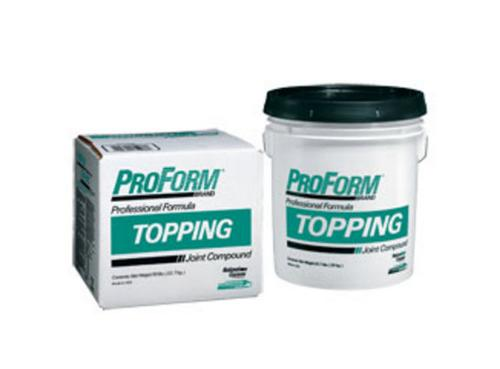 National Gypsum ProForm BRAND Topping Joint Compound - 4.5 Gallon Box