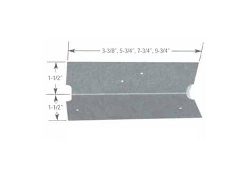 1 1/2 in x 1 1/2 in x 3 3/8 in x 16 Gauge ClarkDietrich EasyClip U-Series Clip Angles