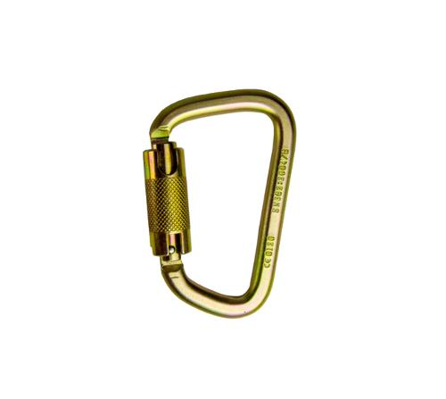 3 in Guardian Fall Protection Locking Steel High Strength Carabiner