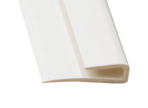 10 ft Marlite FRP M370 PVC Edge Trim - Gray