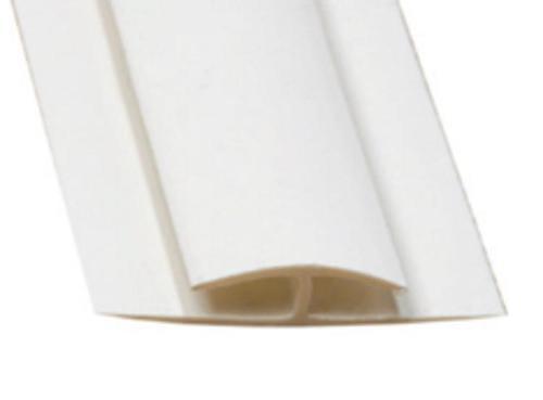 10 ft Marlite FRP PVC Division Bar - Gray