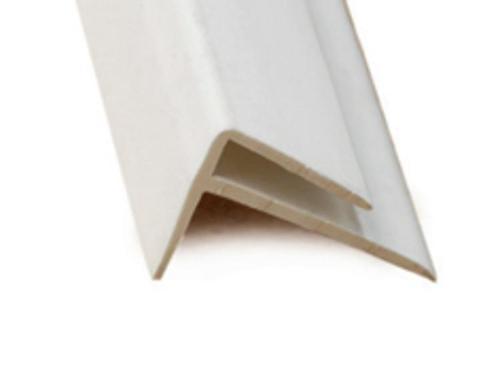 10 ft Marlite FRP PVC Outside Corner - Ivory