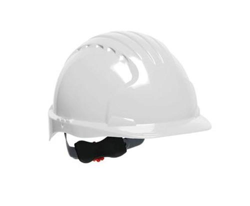 PIP Evolution Deluxe 6151 Standard Brim Hard Hat - White