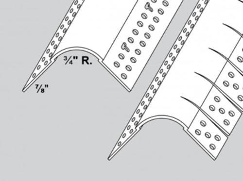 10 ft Trim-Tex Bullnose Archway Bead w/ 3/4 in Radius