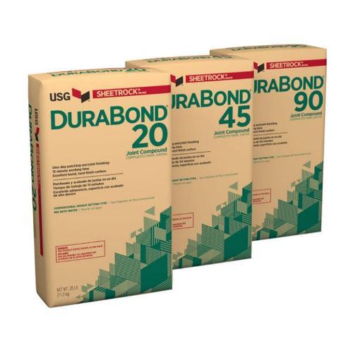 USG Sheerock Brand Durabond 210 Minute Quick Set Compound - 25 lb Bag