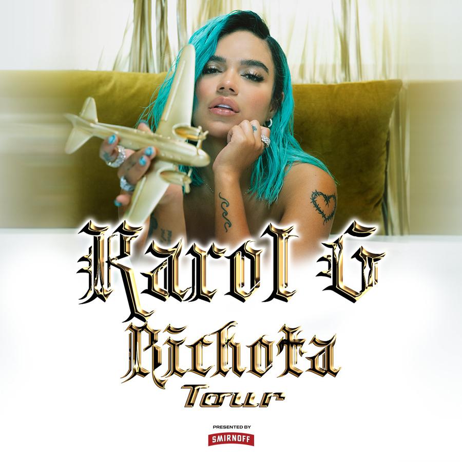 Karol G at The Theater Las Vegas