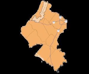 Detail map northern virginia