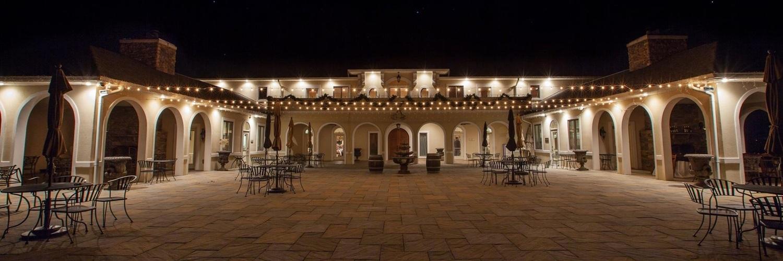 Ward photography courtyard w lights