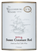 Susan constant red label 2014 nexternal