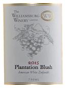 Plantation blush label 2015