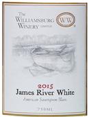 James river white bottle 2015