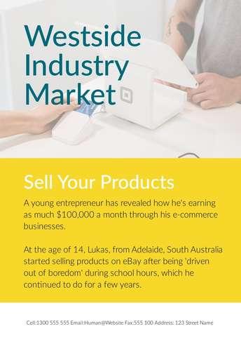 Industry Market Flyer