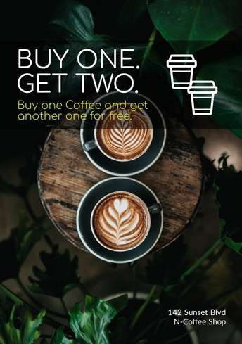 Coffee Promo Flyer