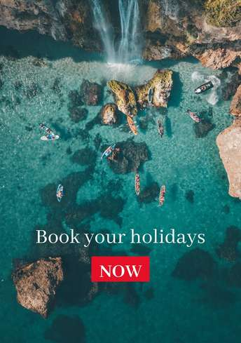 Book Holidays Flyer