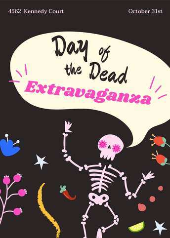 Dia de Muertos-Invitation 4