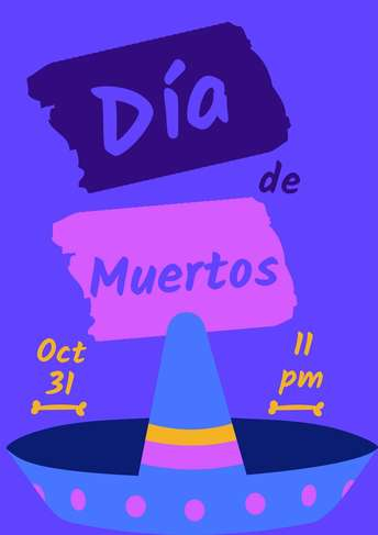 Dia de Muertos- Poster 5