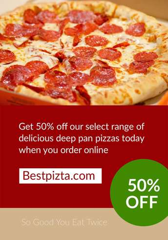 Pizza Deal Flyer