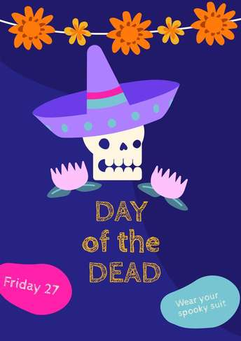 Dia de Muertos- Poster 3