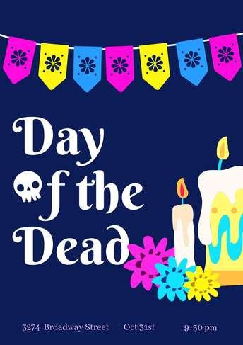 Dia de Muertos- Poster 2