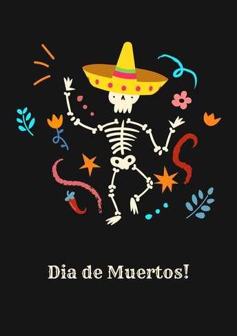 Dia de Muertos- Poster 1
