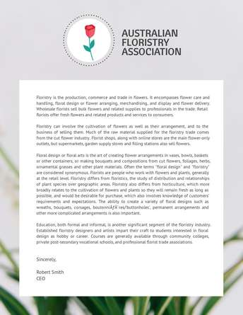 Australian Floristry Association