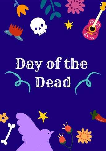 Dia de Muertos- Flyer 1