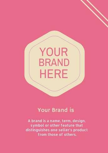 Branded Flyer