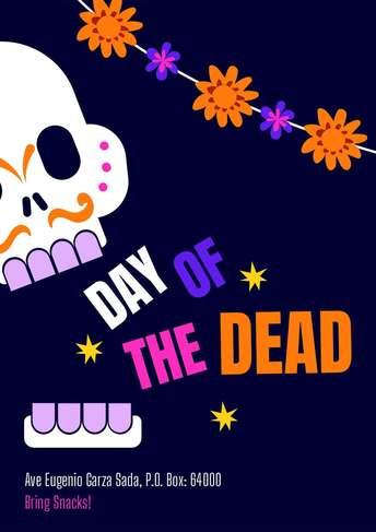 Dia de Muertos- Flyer 6