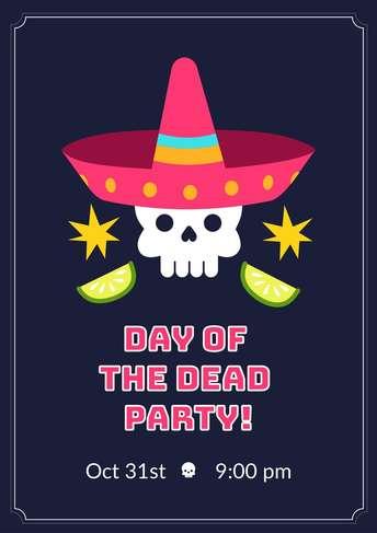 Dia de Muertos- Flyer 5