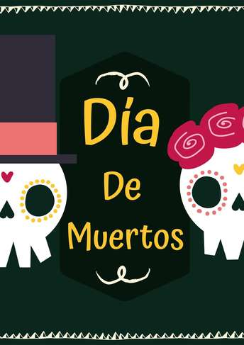 Dia de Muertos- Flyer 4