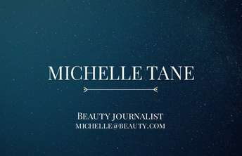 Beauty journalist