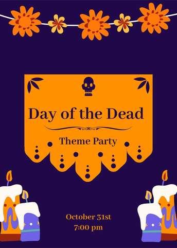 Dia de Muertos-Invitation 6