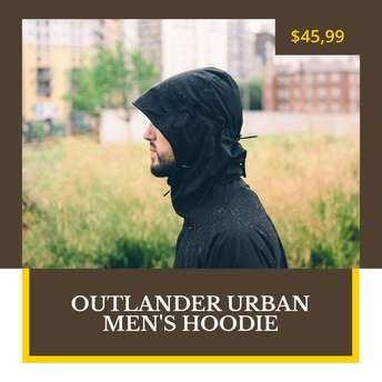 Outlander Urban Men's Hoddie