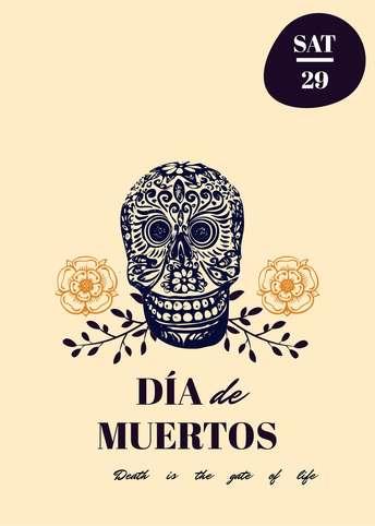 Dia de Muertos-Invitation 7