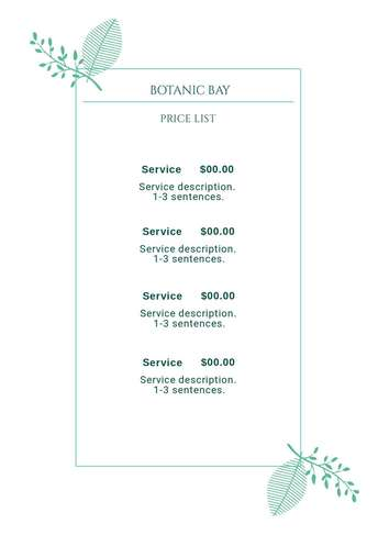 pricelist-botanic