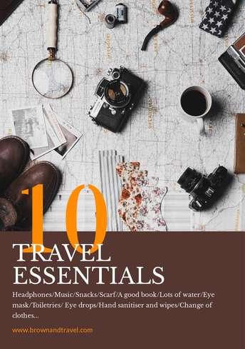 Travel Essentials Flyer