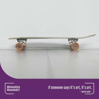 Minimalista. Museum Art