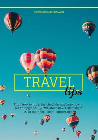 Travel Tips Flyer