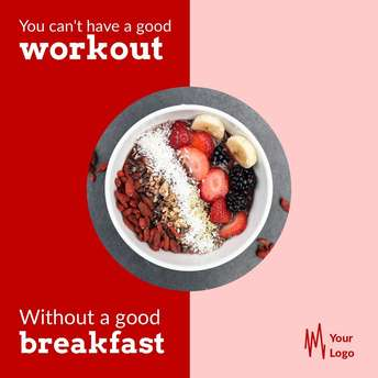 Workout Without a Breakfast