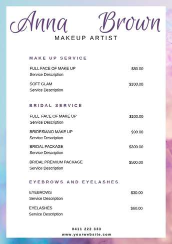 pricelist-makeup