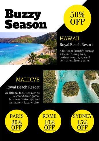 Travel Discounts Flyer