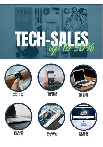 Tech Sales Flyer
