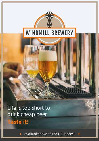 WindmillBrewery_Poster-A4