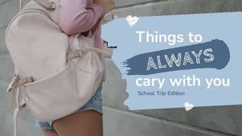 Things to Always cary with you