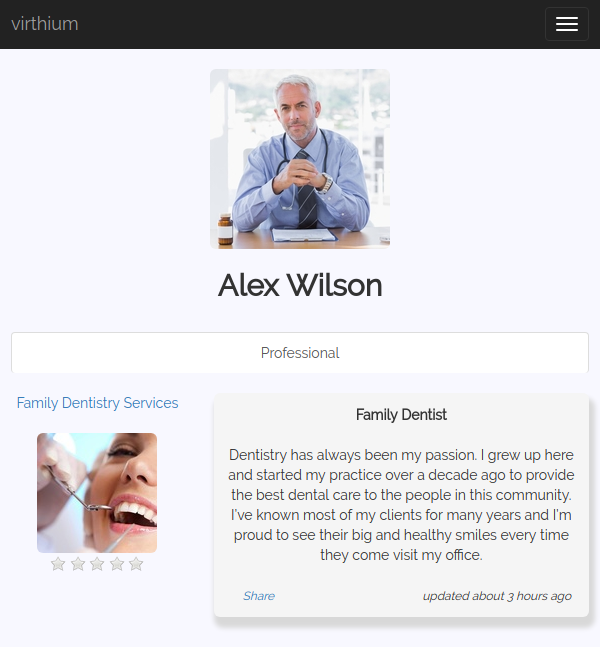 virthium listing owner profile